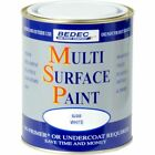 Bedec Multi Surface Paint White / Black