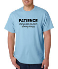 Unique T-shirt Gildan Patience What You Have When Too Many Witnesses