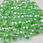Wholesale Faceted 298pcs Rondelle glass crystal 3*4mm Beads U pick colors