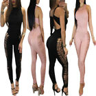 Sexy Women Sleeveless Stylish  Jumpsuit Bodycon Playsuit Club Long Trousers Suit