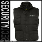 Bodywarmer  SECURITY  /  Sicherheitspersonal  /  schwarz  /  S-XXL / + Name !