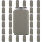 Gray/Grey Can Coolers Beverage Insulators Party Supplies Wedding Favors