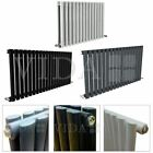 Horizontal Designer Radiator - Wide Oval Column Central Heating Radiators - New