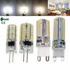 G4 G9 Silicone Crystal LED Corn Bulb 3W 5W 6W 10W 3014 SMD Light Lamp 12V 220V
