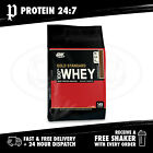 Optimum Nutrition Gold Standard 100% Whey - 10LB (Free ON T-Shirt)