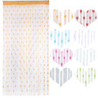 New String Curtains Panels Patio Net Fringe Door Fly Screen Windows Room Divider