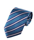Streeze Men's Double Striped Polyester Ties