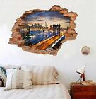 3D New York 1214 Wall Murals Wall Stickers Decal Breakthrough AJ WALLPAPER AU