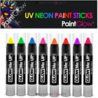 PaintGlow UV Neon Glow Face & Body Paint Sticks Halloween Sets