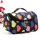Ladies Large Travel Organizer Toiletry Cosmetic Make Up Holder Case Bag Pouch