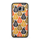 orla kiely mobile phone cover - Orla Kiely Pear Pattern Case For Samsung Galaxy 7 8 Rubber Cover