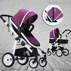 4in1 Folding Reversible Baby Kids Toddler Jogger Pram Buggy Stroller Baby Cradle