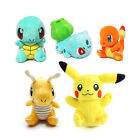 Pokemon Go Figures Toys Bulbasaur Pikachu Charmander Stuffed Dolls Kids Toy Gift