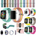 For ApplE Watch 38/42mm M/L Silicone Replacement Wrist Bracelet Sport Band Strap image