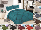 VINTAGE BEDROOM COLLECTION RUFFLED HEAVY THICK BEDDING BEDSPREAD QUILT SET MAD