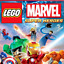 Lego Marvel Super Heros Free Shipping  Very Good  For Playstaion 3