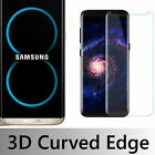 3D Full Tempered Glass Screen Protector For Samsung Galaxy S8/S8 Plus/ Note 8