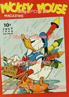 "DONALD DUCK 1940 = Fireworks RAINING = POSTER Not Comic Book 7 SIZES 19"" - 36"""