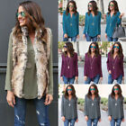 Fashion Women's Loose Long Sleeve Casual Blouse Shirt Tops New Fashion Blouse