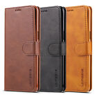 For Samsung Galaxy S8/S8+ Plus S7 edge Flip Wallet Leather Cards Slim Case Cover