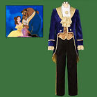 Halloween Beauty and the Beast Prince Tuxedo Cosplay Costume Party Mens Costume
