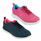 LADIES AIR TECH PROFILE CASUAL SPORTS RUNNING LACE UP GYM TRAINERS SHOES