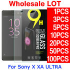 LOT Stock Tempered Glass Film Screen Protector For Sony Xperia XA Ultra 6.0""