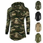 2017 Fashion Men Casual Slim fit Long Sleeve Hooded T shirt Tops Hoodie Pullover