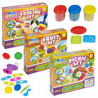 Tooling Fruit Picnic Play Fun Dough Sets Modelling Kids Toys Crafts Shapes Gift