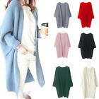 Women Long Sleeve Knitted Cardigan Loose Sweater Outwear Coat Casual Sweater