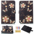 Marble Pattern Leather Wallet Case Stand Cover for iPad 4 5th Gen/Air 2/Mini/Pro