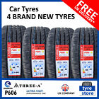 New 225 40 18 THREE A P606 92W XL 225/40R18 2254018 *B WET GRIP* (1,2,4 TYRES)