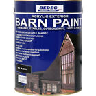 Bedec Barn Paint Black