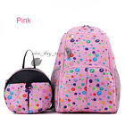 2 In 1 Mummy Bag Women Large Travel Backpack Rucksack Baby Diaper Nappy Bag Pack