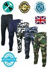Mens Cargo Combat Trousers Camo Work Wear Army Military PREMIUM Quality