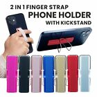 Finger Sling Grip Phone Elastic Strap And Stand Andriod / iPhone Samsung Strapzy