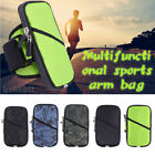 Universal Sports Running Riding Arm Band Case For Cell Phone Holder Zipper Bag