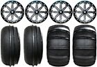 "MSA Lok 14"" ATV Wheels 28"" Sand Stripper/HP Tires Yamaha Grizzly Rhino"
