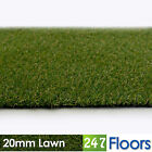 Artificial Grass, Quality Astro Turf, Cheap, Realistic Natural 20mm Lawn