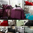 New Luxury Duvet Cover Sets Pillow Cases Size Single Double King Super Bedding