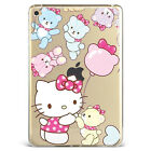 Cartoon Hello Kitty Cute Bears Soft Silicone Case Cover For Samsung Ipad F13010