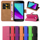 Kyпить Samsung Galaxy Xcover 4 Case -  Leather Wallet Flip Book Stand View Case Cover  на еВаy.соm