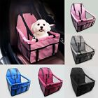 Portable Dog Car Seat Belt Booster Travel Carrier Folding Bag for Pet Cat Puppy#