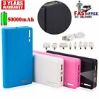50000mAh Backup External Battery USB Power Bank Charger for Cell Smart Phone LOT