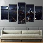Printed canvas Harry Potter School Castle Hogwarts Painting room decor posters
