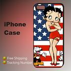 Betty Boop Cute American Funny Cartoon Cover iPhone X 8 7 6s 6 se 5c 5s 4s #AR $22.51 CAD on eBay