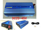 1000W Solar Grid Tie Inverter DC22-45V to AC110V MPPT Power Converter with Cable
