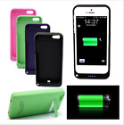 New 2200mAh Rechargeable Backup Charger Case Cover Power Bank For iPhone5 5S SE