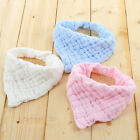 Kids Baby Feeding Cotton Towel Bib Boy Girl Bandana Saliva Triangle