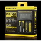 Nitecore Digicharger D4 Intellicharger USB Vape Ecig Re Charger AA For Battery